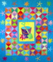 Seaside Treasures Quilt by Brenda Smith