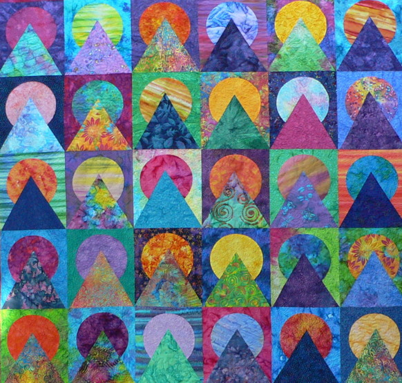 Scrap Kaleidoscope Serendipity And The Art Of The Quilt